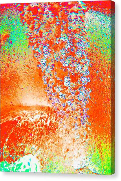 Waterdrops Canvas Print by Nico Bielow