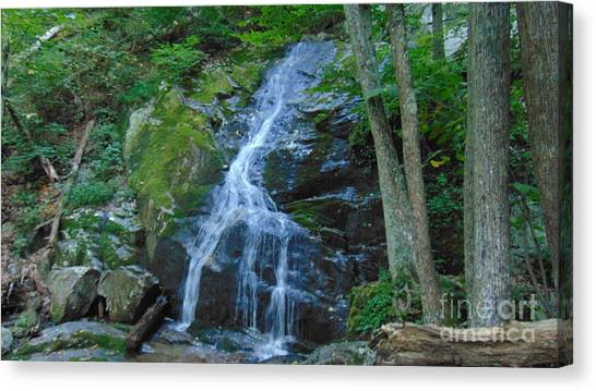 Waterfall At Crabtree Falls Canvas Print