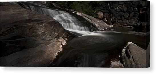 Waterfall Panoramic Canvas Print by Michael Murphy