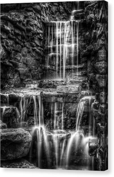 Brook Canvas Print - Waterfall by Scott Norris