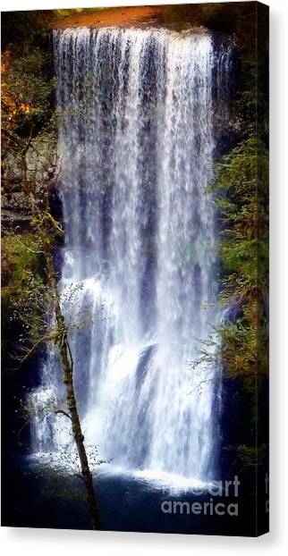 Waterfall South Canvas Print