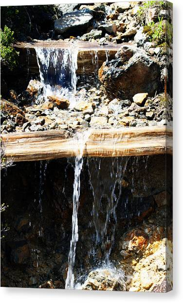 Waterfall Steps Canvas Print