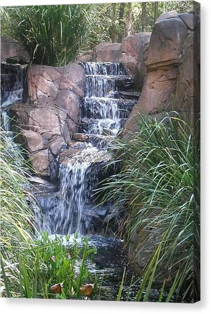 Waterfall Steps Canvas Print