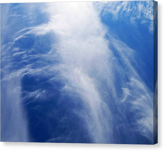 Waterfalls In The Sky Canvas Print