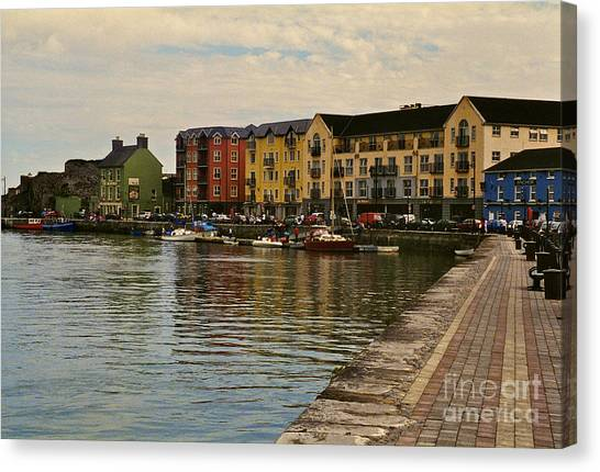 Waterford Waterfront Canvas Print