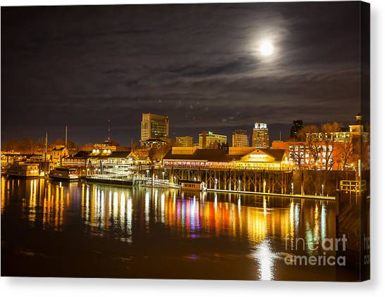 Waterfront Wonder Canvas Print