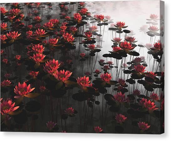 Waterlillies Canvas Print
