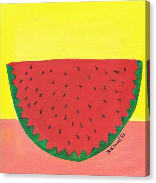 Watermelon 1 Canvas Print
