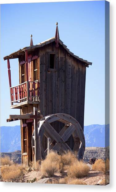 Watermill House Canvas Print