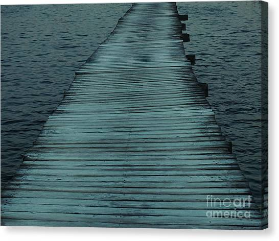 Water's Path Canvas Print