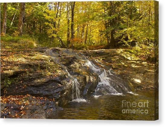 Waterville Waterfall Revisited Canvas Print
