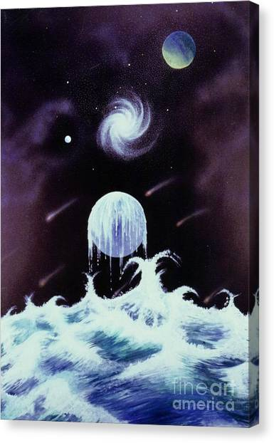 Waterworld II Canvas Print