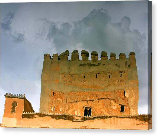 Canvas Print featuring the photograph Watery Alhambra by Rick Locke