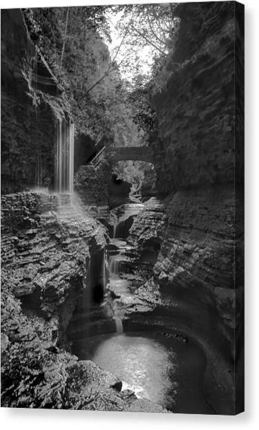 Watkins Glen 02 Bw Canvas Print
