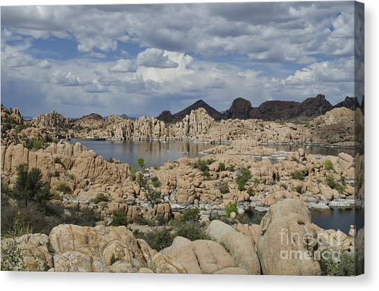 Watson Lake Arizona Canvas Print