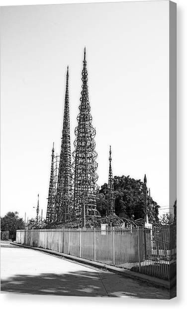 Watts Towers Canvas Print