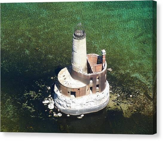 Waugoshance Lighthouse Canvas Print