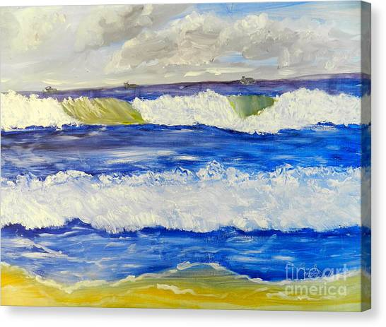 Wave At Bulli Beach Canvas Print