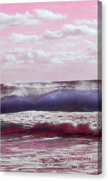 Wave Formation 2 Canvas Print