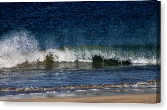 Waves And Surf Canvas Print