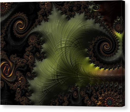 Waves Of Resonance Canvas Print
