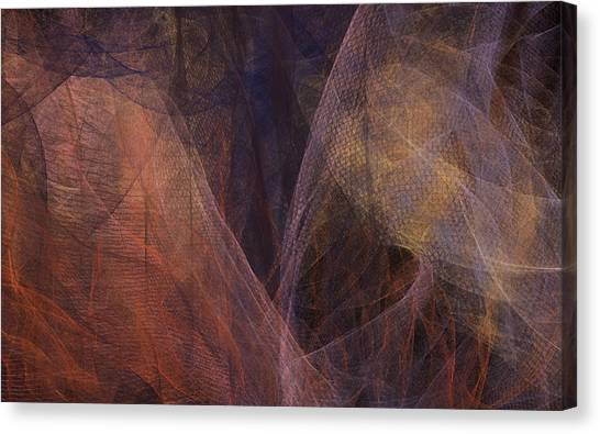 Waves Of The Heart Canvas Print