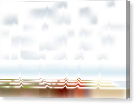 Wavescape Canvas Print