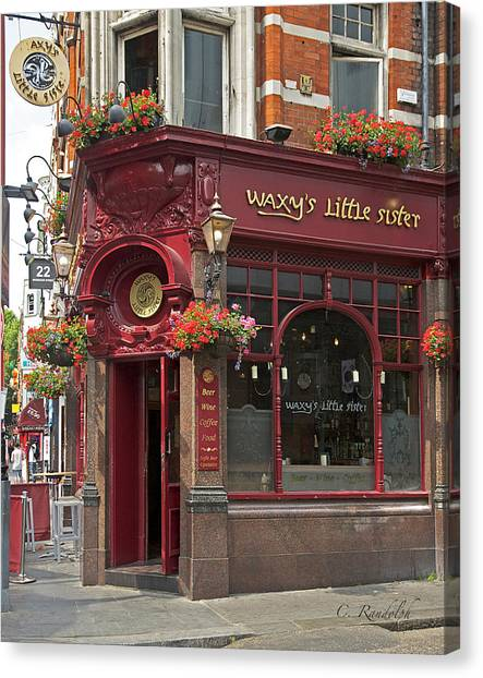 Waxy's Little Sister Pub Canvas Print