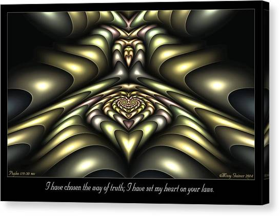 Way Of Truth Canvas Print
