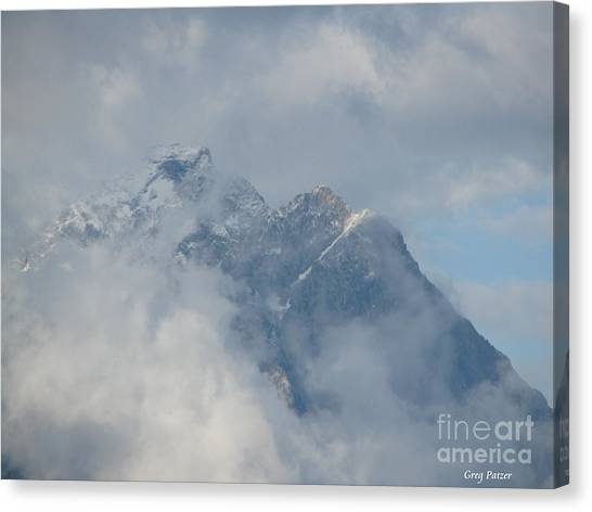 Way Up Here Canvas Print by Greg Patzer