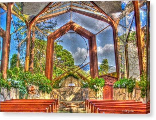 The Vatican Museum Canvas Print - Wayfarers Chapel by Heidi Smith