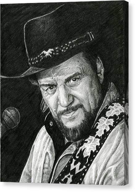 Waylon Canvas Print
