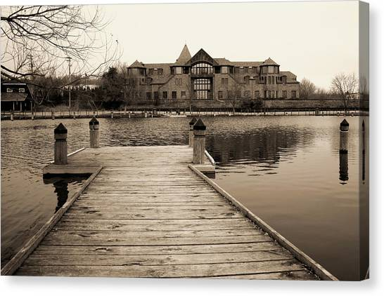 Wayzata Dock Canvas Print