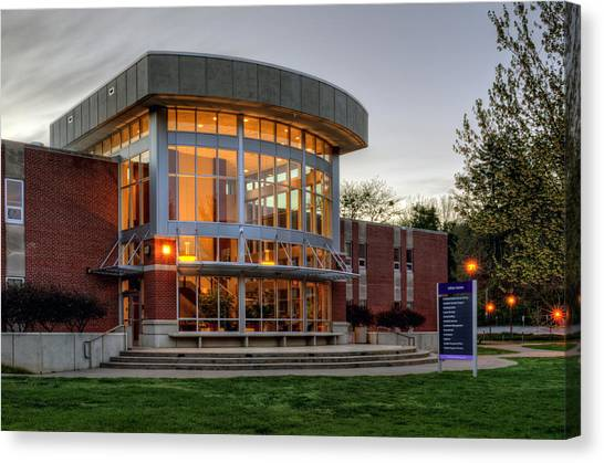 Wcu's Killian Annex Canvas Print