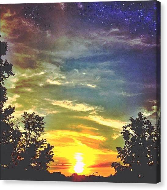 Appalachian Mountains Canvas Print - We Are Made Of Star Stuff by Simon Nauert