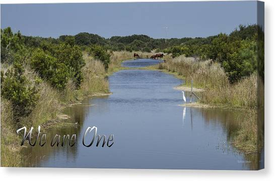 We Are One Canvas Print