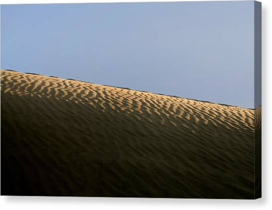 Thar Desert Canvas Print - We Build Up Castles In The Sky And In The Sand. by A Rey