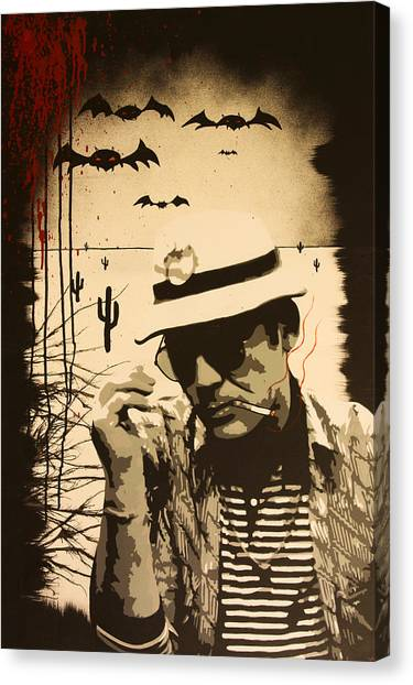 Johnny Depp Canvas Print - We Can't Stop Here by Bobby Zeik