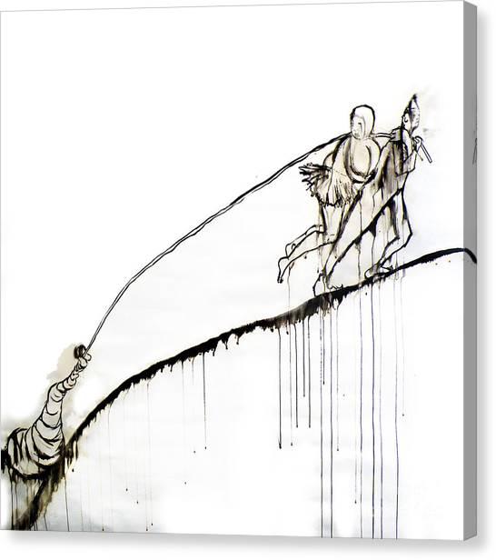 We Dragged Canvas Print by Jain McKay