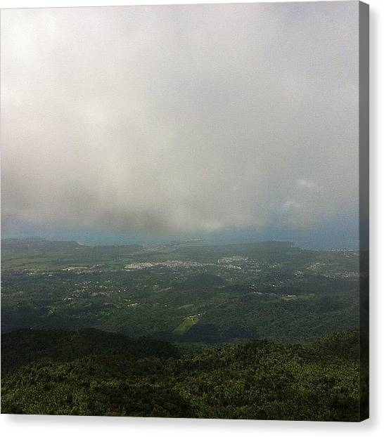 Rainforests Canvas Print - We Hiked For Hours To See This #view ! by Megan Batrez