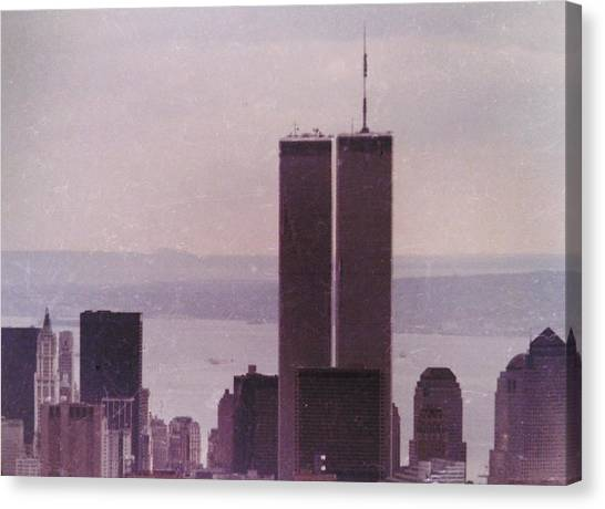 George W. Bush Canvas Print - We Will Never Forget 911 by Norberto Medina Jr