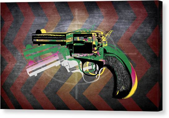Weapons Canvas Print - Weapons  by Mark Ashkenazi