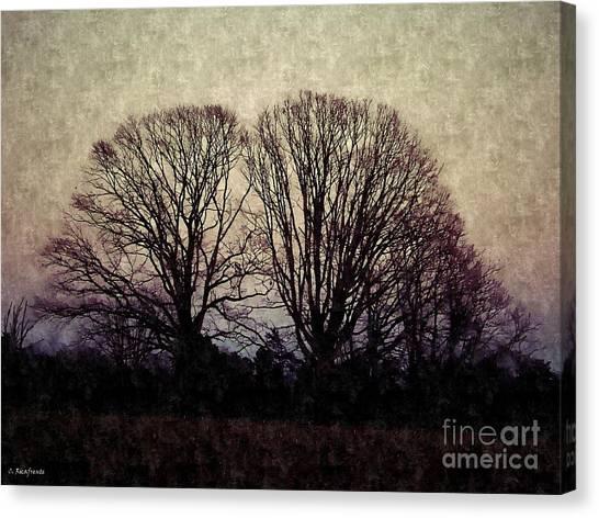 Weary Winter Canvas Print