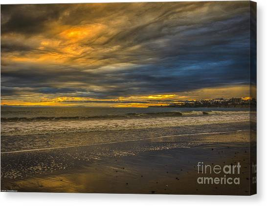 Ucsb Canvas Print - Weather Or Not by Mitch Shindelbower