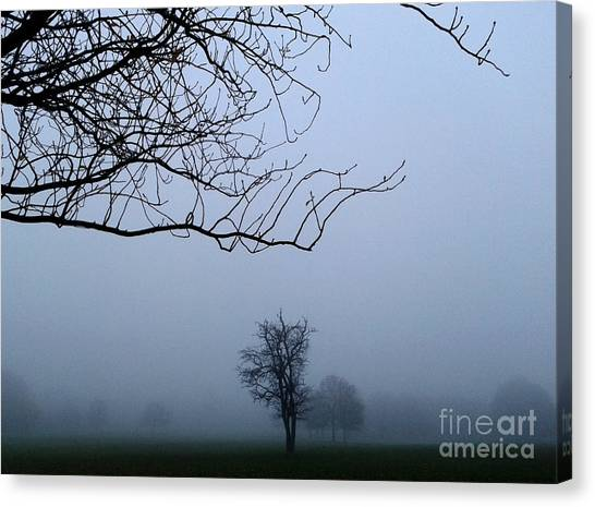 Weather Canvas Print by V Waddingham