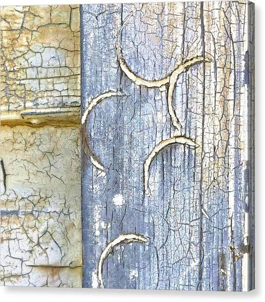 Weather Canvas Print - Weathered by Julie Gebhardt