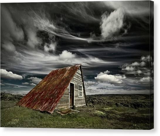 Desolation Canvas Print - Weathered by ?orsteinn H. Ingibergsson