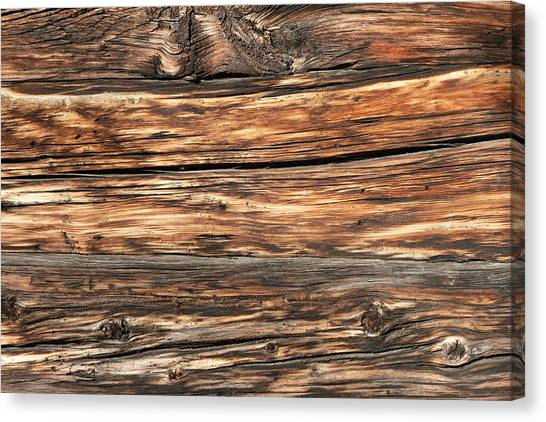 Weathered Wood 6 Canvas Print by Charles Lupica