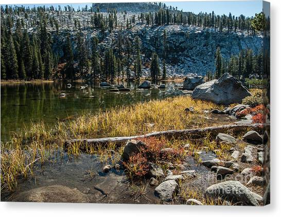 Weaver Lake- 1-7692 Canvas Print by Stephen Parker