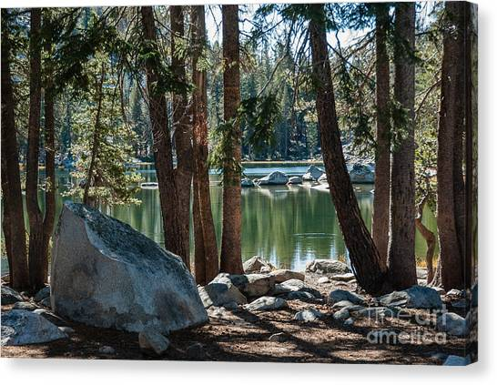 Weaver Lake  1-7700 Canvas Print